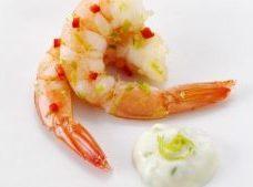 prawn seafood gout